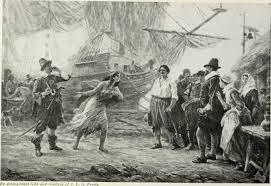 pilgrims thanksgiving history file history of the pilgrims and puritans their ancestry and