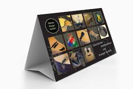 standard table tent card size table tent printing services online beeprinting australia