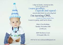 first year birthday invitation