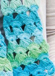 broomstick crochet splash broomstick lace scarf knitting patterns and crochet