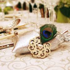 bridal shower gift bags peacock silver wedding favor bridal shower gift bags ewfb062 as