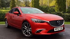 mazda saloon cars mazda 6 2 2d 175 sport nav 4dr diesel automatic saloon 2017