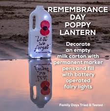 easy and fun remembrance day poppy activities