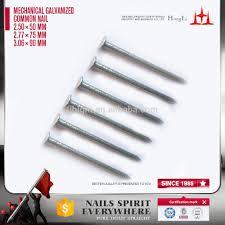 mechanical galvanized common round wire nails buy zinc