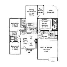 craftsman style house plan 3 beds 2 00 baths 1655 sq ft plan 21 212