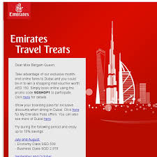 emirates inflight shopping emirates may 2018 promos sale coupon code bq sg bargainqueen