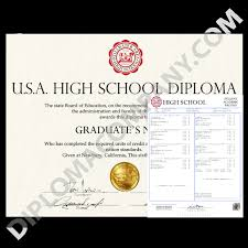 name of high school in usa usa high school diploma and transcripts diplomacompany
