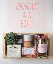 Mother S Day Food Gifts Breakfast In A Box A Mother U0027s Day Idea U2013 A Cozy Kitchen