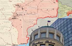 Dte Map What Assets Did Russia U0027s Puppet Republics Seize From Ukraine Full