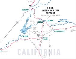 Folsom Outlets Map Before You Go California Whitewater Guide O A R S