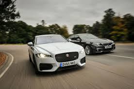cars bmw 2016 jaguar xf versus bmw 5 series comparison autocar