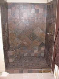 Schluter Corner Bench Image Detail For Ceramic Tile Shower With Corner Bench Bathroom