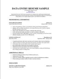 Sample Resume Data Entry by Free Sample Resume Data Entry Clerk Data Entry Clerk Resume