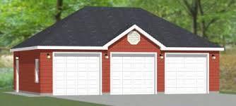 3 door garage 36x24 3 car garage brick pdf floor plan huntington west