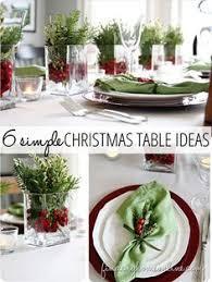 simple christmas table decorations 25 christmas table decorations place settings diy christmas