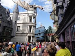 Harry Potter Adventure Map Harry Potter And The Escape From Gringotts Wikipedia
