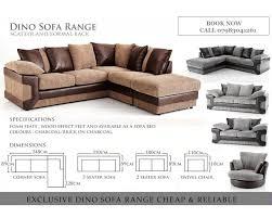 brand new jumbo cord dlno 3 and 2 seater corner sofa in heathrow