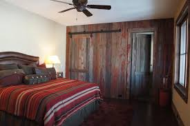 bedroom closet door ideas bedroom rustic with barn door barn wood