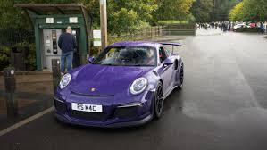 porsche purple porsche gt3 rs in ultra violet what colour would you choose
