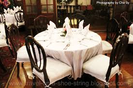 Fine Dining Room Chairs Fine Dining Table Setting