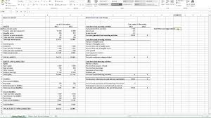 liquidity report template calculating flow coverage ratio in excel