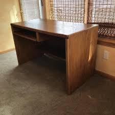 Oak Veneer Computer Desk Best Oak Veneer Computer Desk 24 X 48 X 30 For Sale In