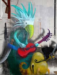 Mural Artist by Monzter Artist Hides Monster Murals Inside Abandoned Buildings In