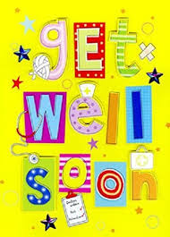 get well soon kid large get well soon card co uk kitchen home