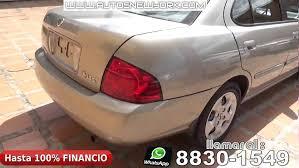 nissan sentra 2004 modified nissan sentra 2004 automatico 4 puertas full extras financio al