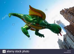 rex the happy balloon soars columbus circle during