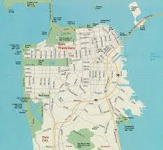 Map Of San Francisco by Maps Of Dallas San Francisco Map
