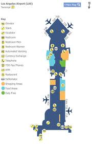 lax gate map los angeles airport lax terminal 3 map map of terminal 7 at