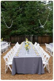 Backyard Bbq Reception Ideas Vows And Reception Without Moving Seats My Diy Vintage Wedding