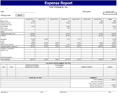 Travel Expense Spreadsheet Free Printable Expense Report Template