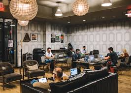 Coworking Space Sf Wework Real Estate Empire Or Shared Office Space For A New Era