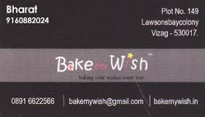 bake my wish lawsons bay colony in visakhapatnam vizag
