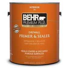 Home Depot Paint Prices by Behr Premium Plus 1 Gal Drywall Primer And Sealer 07301 The