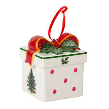 spode tree multicolor led gift box ornament spode usa