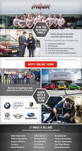 lexus motors careers dealership automotive jobs mckenna european auto center