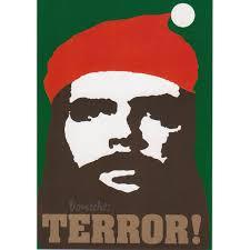 Che Guevara Flag Postkarten