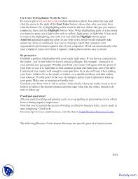 Business Letter Parts And Format by Writing An Effective Business Letter Business Communication