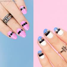 video striping nail art how to sonailicious boutique
