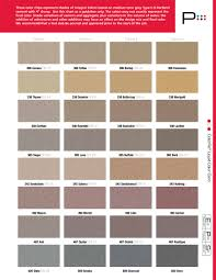 color chart loveland ready mix concrete inc