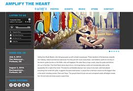 s website websites for musicians and bands create a website hostbaby