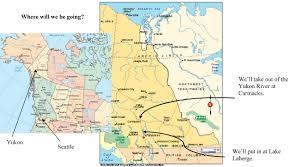 Map Of Yukon Yukon Trip 2017 7th And 8th Grade
