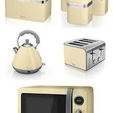 luxury copper swan set kettle u0026 2 slice toaster 3 canisters