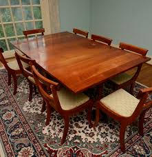 drop leaf dining room tables vintage cherry drop leaf dining table and chairs ebth