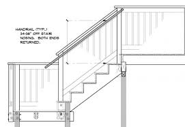Irc Handrail Requirements Stair Handrail Code Requirements Staircase Gallery