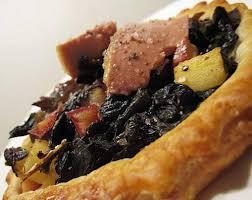 cuisiner les trompettes de la mort terrine de foie gras aux trompettes recette