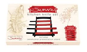 Essential Kitchen Knives Samurai Kitchen Knife Set At Toxicfox Co Uk